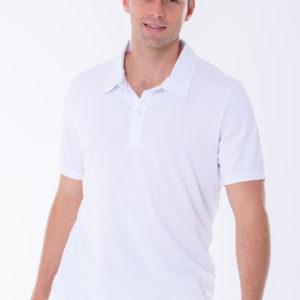 Polo Mens White