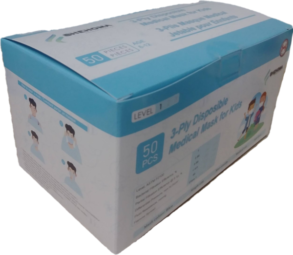 3 Ply Disposable Kids mask
