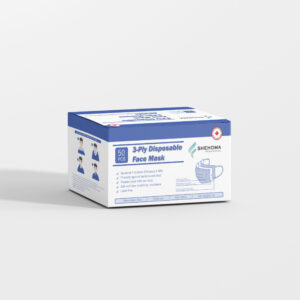 3 Ply Disposable Non Medical Mask